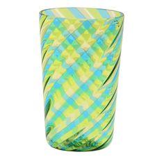 """#Blown #Murano #glass #tableware, multicolor twirl """"canne"""" (rods)"""