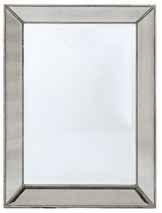 "ZGallerie Omni Wall Mirror $299  30"" x 40"" knockoff of the restoration hardware mirror"