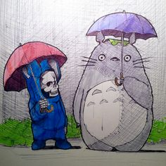 Sketchbook sketches by Norio Fujikawa, via Behance