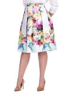 4487d31b1ec8c 454 Best Floral Skirts images in 2019