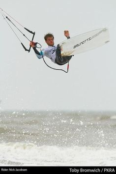 Nick Jacobsen in action during the PKRA in Scheveningen