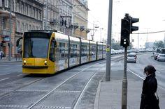 De tram in het dagelijks beeld van #Boedapest in #Hongarije.