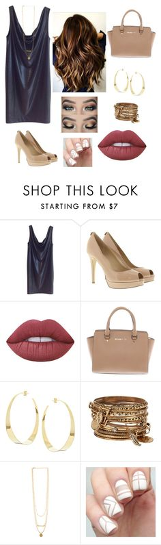 """""""Night out"""" by rebeccaball37 on Polyvore featuring COS, MICHAEL Michael Kors, GURU, Lime Crime, Michael Kors, Lana and ALDO"""