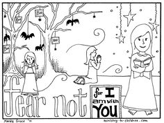 Free Coloring Page Teaches Kids That Faith Can Overcome Fear Ministry