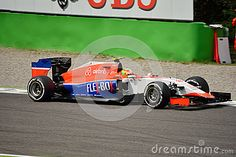 Manor F1 Team Marussia MR03 Driven By Roberto Merhi At Monza - Download From Over 35 Million High Quality Stock Photos, Images, Vectors. Sign up for FREE today. Image: 58939669