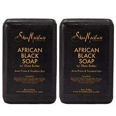 Shea Mst African Black So Size 8.0 O Shea Moisture African Black Soap 8.0 Oz