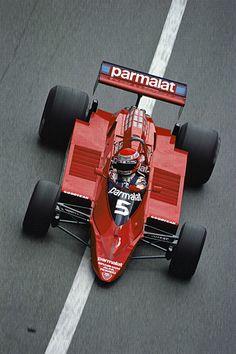 Nike Lauda - Brabham - Alfa Romeo Formula 1 racer