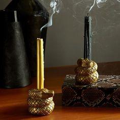 Snake Candle Holders / West Elm