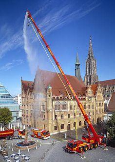 #Liebherr Fire Service Crane #Rescue #Setcom