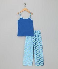 Take a look at this Blue Polka Dot Pajama Set - Girls by Cozytime on #zulily today! Pajama Set, Pajama Pants, Blue Polka Dots, Tween, Little Girls, Kids Fashion, Pretty, Hug, Sleeping Beauty