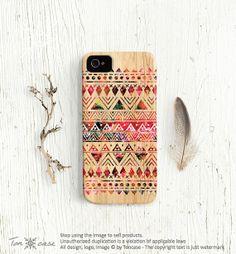 Tribal iPhone 4 / 4s case aztec by TonCase