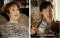 I am Sherlock only less smart.