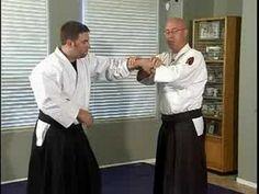 Aikido Basic Techniques : Katate Tori Hantai Nikyo - YouTube