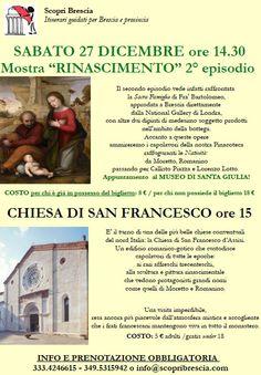 Mostra Rinascimento e Chiesa di San Francesco con Scopri Brescia http://www.panesalamina.com/2014/31558-mostra-rinascimento-e-chiesa-di-san-francesco-con-scopri-brescia.html