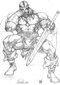 Conan by cowboyfromhell0 on DeviantArt