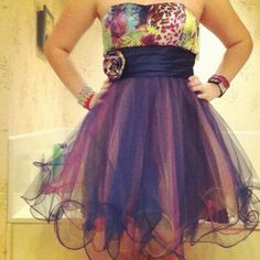 Teen Fashion - Military Ball or Prom Dress