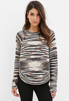 Contemporary Tonal Textured Sweater | Forever 21 - 2000142622
