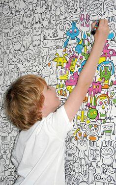 #wallpaper #kidsroom