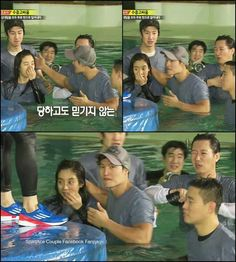 Running Man ep 138 such a sweet moment <3 Kim Jong Kook and Song Ji Hyo, Running Man