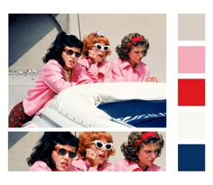 #color #palette #grease #movie #inspiration