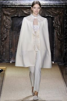 Valentino.  I can't even begin to express how much I LOVE capes!!