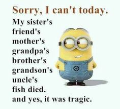 """These """"Top Minion Quotes On Life – Humor Memes & Images Twisted"""" are so funny and hilarious.So scroll down and keep reading these """"Top Minion Quotes On Life – Humor Memes & Images Twisted"""" for make your day more happy and more hilarious. Funny Minion Pictures, Funny Minion Memes, Crazy Funny Memes, Minions Quotes, Really Funny Memes, Haha Funny, Top Funny, Minions Images, Funny Pics"""