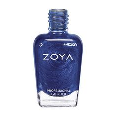 Zoya Song Nail Polish | Song by Zoya can be best described as a bold, vibrant medium primary blue with silver and blue glittery metallic sparkle.A very vibrant blue with a glittery finish that's smoother than traditional chunky glitter. | Foil | Intensity: 5