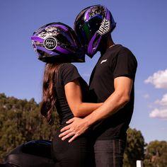 Motocross Couple, Bike Couple, Motorcycle Couple, Motorcycle Bike, Cute Relationship Goals, Cute Relationships, Bmx, Biker Love, Baby Bike