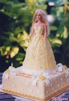 Barbie dolls cake - girls birthday cake - Cake pastry - Food ...
