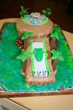 Thunderbirds Tracy Island Cake | by kiwijoh
