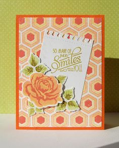 Paper and Ribbons: 3 Step Stamping Colour Combinations The Sweet Life - Updated 2015