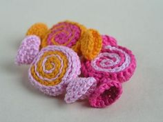 Crochet Candy free pattern