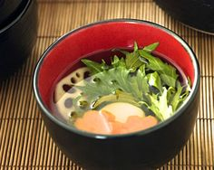 Ring in the Japanese New Year with Traditional Vegan Ozoni (Soup with Rice Cake): Vegan Ozoni (Japanese New Year's Soup with Rice Cake)
