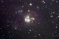 NGC 7129 Photographs by Matthew T. Russell