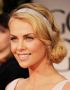 Downton Abbey hair? side sweep w headband