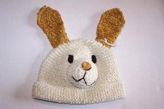 DAYLEE DESIGN Baby Hat Crochet Puppy Dog   San Diego Hat Co Sz 0-3 Months NEW #DayleeDesigns