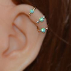 Hey, I found this really awesome Etsy listing at https://www.etsy.com/listing/202530077/14k-gold-filled-opal-nose-ring-extra