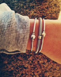 pretty everyday bracelets