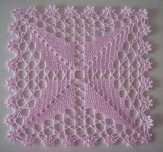 Transcendent Crochet a Solid Granny Square Ideas. Inconceivable Crochet a Solid Granny Square Ideas. Granny Square Häkelanleitung, Granny Square Crochet Pattern, Crochet Blocks, Crochet Motifs, Crochet Squares, Crochet Granny, Crochet Doilies, Crochet Flowers, Crochet Lace