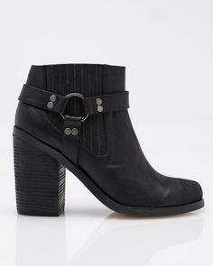 Need Supply Co. / Senso / Jay Black Harness Bootie - StyleSays