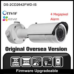 HIKVISION DS-2CD2642FWD-IS Original English Version IP Camera Onvif POE 4MP CCTV Security Camera IPC H265 Network camera P2P ** AliExpress Affiliate's buyable pin. Click the image to view the details on www.aliexpress.com #SecurityAlarms