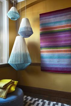 The Wool BnB: Decorating with wool