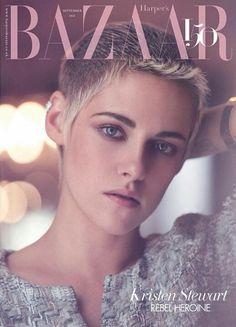 Kristen Stewart for Harper's Bazaar UK September 2017 by Tom Craig