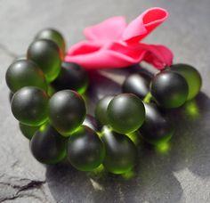green bracelet - zelený náramek