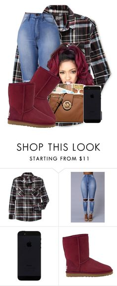 Sold out by deasia-still-thugin-honey on Polyvore featuring beauty, UGG Australia, Retrofit and selfie