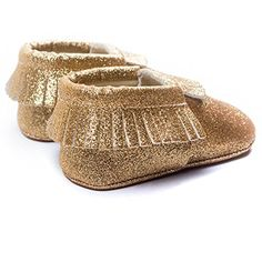 Voberry Baby Girls Cute Bling Bling Tassels Loafer Flats Shoes Soft Sole Crib Shoes Prewalker 04 Month Gold * Continue to the product at the image link. (This is an affiliate link)