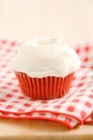 The Deen Bros. Lighter Red Velvet Cupcakes