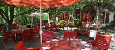 L'Auberge Chez Francois Terrace Dining
