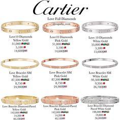 Cartier Diamond Love Bracelets