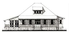 House Plan 73911 | Country   Historic    Plan with 2699 Sq. Ft., 3 Bedrooms, 4 Bathrooms